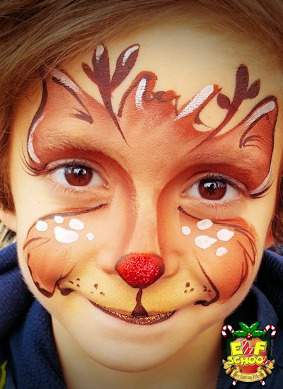 Christmas Face Paint.Christmas Face Painting Book Elf School S Selfie Station Now